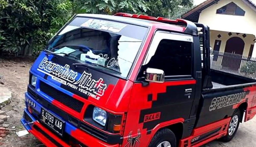 ide modif mobil carry pick up